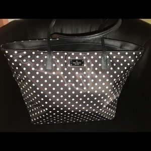 Kate Spade nylon polka dot bag
