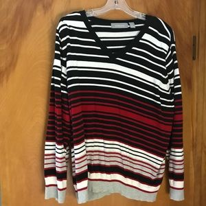 V-neck sweater by Liz Claiborne—3x