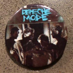 Depeche Mode Vintage 1985 Pin