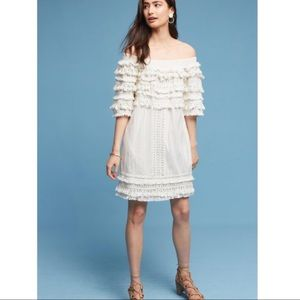 Anthropologie Tassel Dress