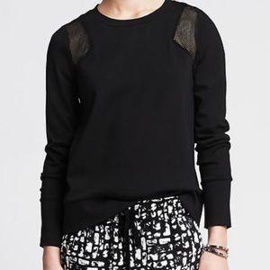 Banana Republic black sweatshirt! Like new!