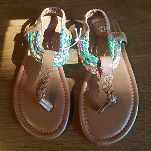 Other - NWOT Girls sandals size 12