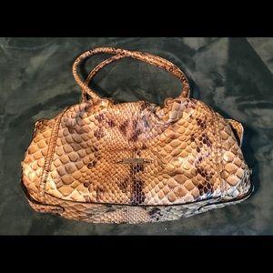 Cole Haan - Snakeskin Print Shoulder Bag