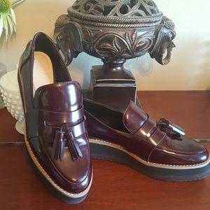 Zara Flatform Loafers