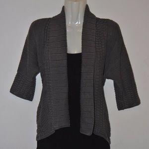 H&M thick grey cardigan