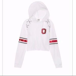 Victoria Secret PINK White Ohio State Sweatshirt L