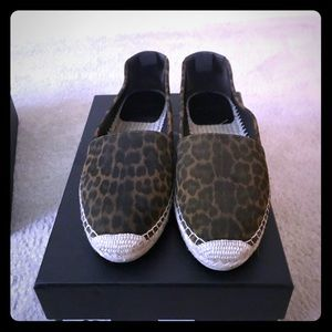 YSL Leopard Espadrilles 🐯🎀