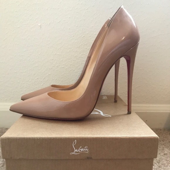 d318f7d692b2 Christian Louboutin Shoes - Christian Louboutin So Kate 120 mm nude pump