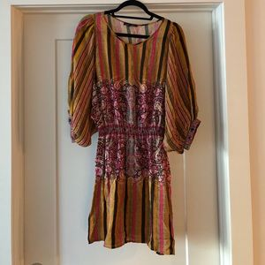 Anthropologie Boho Dress