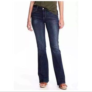 Old navy flare mid-rise denim jeans