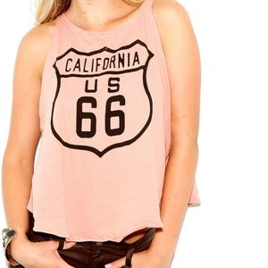 Wildfox Route 66 Tank