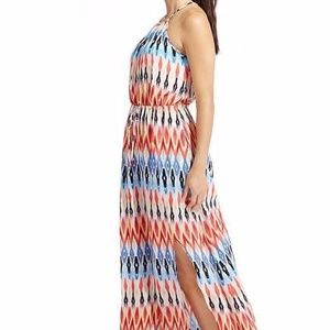 Athleta Sunset Halter Maxi Dress - Size M EUC