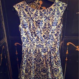 Delft patterned sundress
