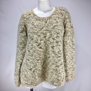 ANTHROPOLOGIE Thick Knit Wool Sweater! Size M.