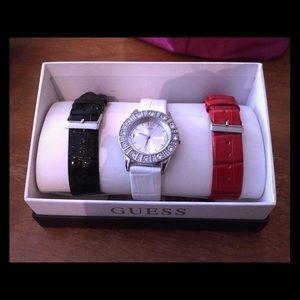 Guess watch set