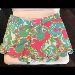 Lilly Pulitzer Buttercup shorts, size 6