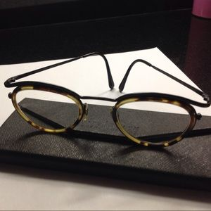 Vintage Giorgio Armani brown Tortoise glasses