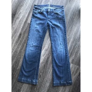 Seven For All Mankind Dojo Flares Size 29