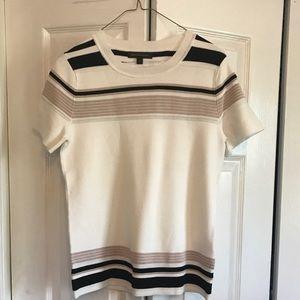 Banana Republic short sleeve sweater. Like new