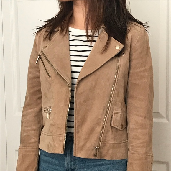 f69f2bb31c10 🎉Genuine suede leather jacket. M 59eb64654127d0e1ee03b5f2