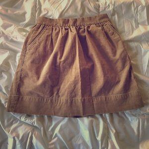 Crew Cuts Corduroy skirt
