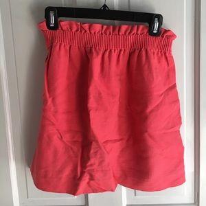 J. Crew Linen Mini Skirt