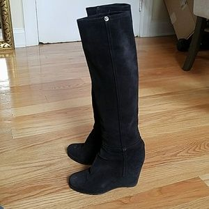 Prada Wedge Boots