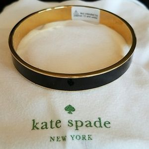 Brand new black & gold Kate Spade bangle