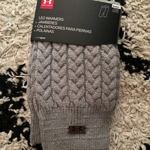 NWT Under Armour Cableknit Leg Warmers
