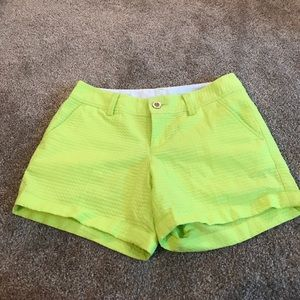 Lime green Lilly shorts