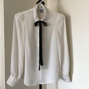 H&M Cream Blouse