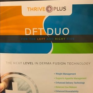 DFT DUO THRIVE PLUS PATCHES
