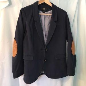 Blue H&M Rugby Jacket/Blazer