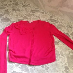 Pink Cabi sweater