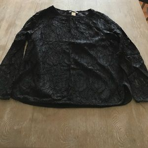 H&M Black Lace Sweater