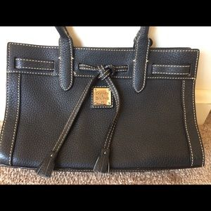 Dooney & Bourke east/west tassel tote