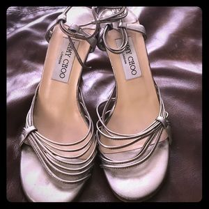 Jimmy Choo heels 👠🎉💄💙❤️👀😍
