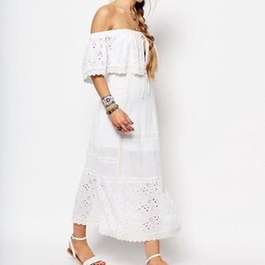 New without tags. Free People white dress