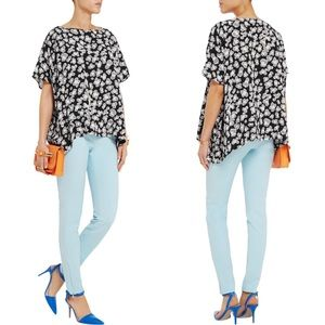 DVF New Hanky Silk Top
