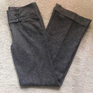 Charlotte Ruse Brown Tweed Dress Pants