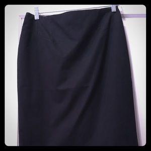 Ann Taylor NWT Black Pencil Skirt 6