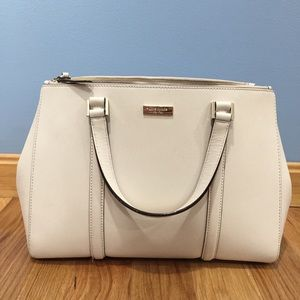 Kate Spade Tote w/ Double Zip Top Pockets