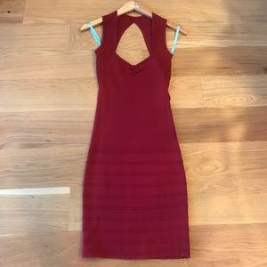 Marciano Tight Red Dress