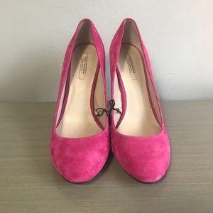 Hot pink Zara Pumps
