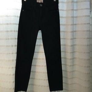 Current/Elliott black skinny jeans