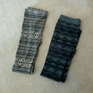 NEW Aztec Print Leggings Size Medium