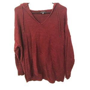 AE Maroon Aztec Sweatshirt