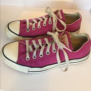 🌟Purple Converse sneakers 👟