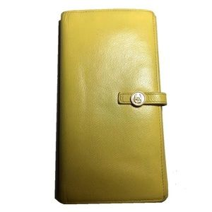 Yellow Chanel Wallet
