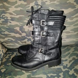 Mossimo supply company combat boots